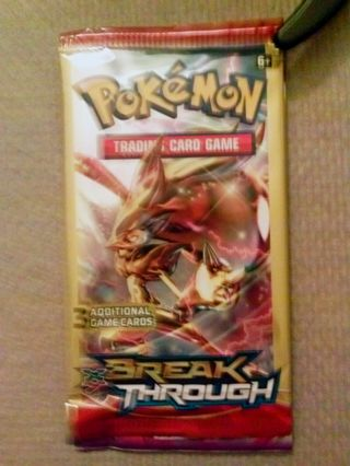 NEW Pokemon XY BREAKthrough Booster Pack Pokemon Cards TCG Cards Hobbies Games Collectibles