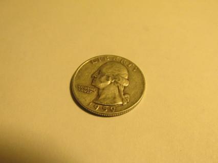 1959 US Quarter