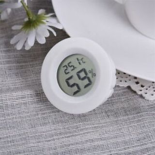 Indoor/Outdoor Thermometer LCD Humidity Hygrometer Meter Temperature