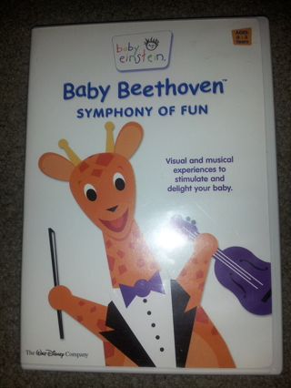 Free: Baby Einstein Baby Beethoven Symphony of Fun DVD ...