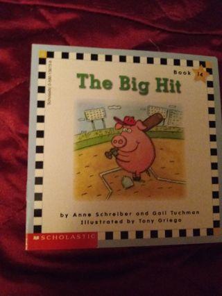Used Children's Scholastic Book The Big Hit
