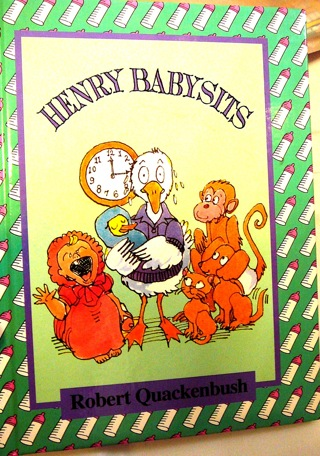 Henry Babysits...By Robert Quackenbush..Children's Book