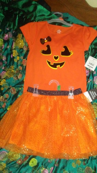 Little girls Halloween Tee shirt & Tutu-☝☝☝☝☝⭐⭐⭐⭐⭐☀☀☀☀☀⬅⬅⬅⬅⬅☝☝☝☝☝