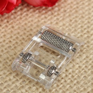 Low Shank Roller Presser Foot For Snap Singer Brother Janome Sewing Machine