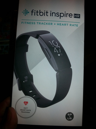 New Fitbit Inspire hr