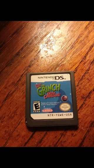 free how the grinch stole christmas nintendo ds game - How The Grinch Stole Christmas Games
