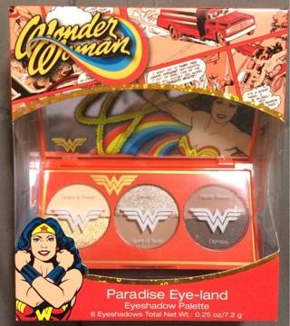 Wonder Woman Paradise Eye-land Eyeshadow Palette