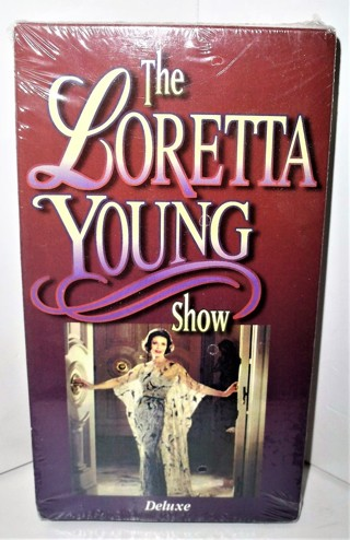 "1999 ""The Loretta Young Show"" (1953-1961) 4 B&W episodes  102 minutes - VHS tape  Sealed/unused  NIP"