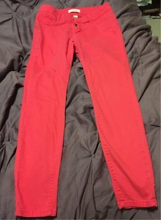 Red refuge Pants size 8 petit