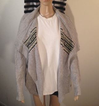 1 Cashmere Open Sweater C. Cashmere FREE SHIPPING