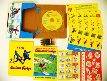 Free: New Curious George Travel Activity Kit (Retail/Ebay $13+)