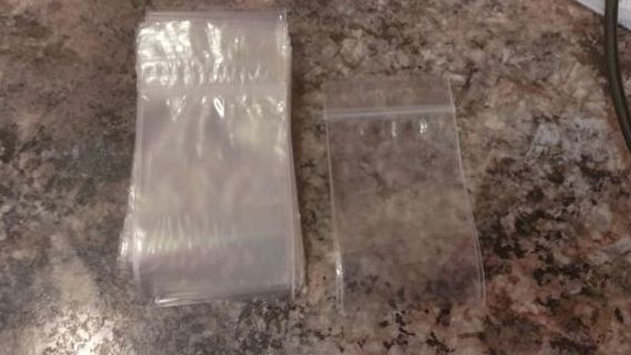"STILLUNWELL'S. 40 3X4"" ZIP LOCK BAGGIES"