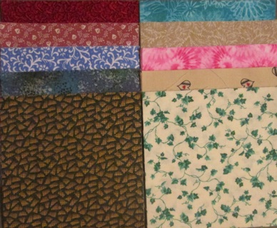 40 Fabric Charm Squares - Set #4 - Quilters!!
