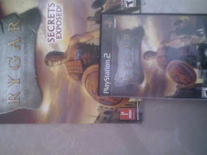 ps2 game rygar with strategy guide