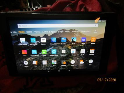 Like New Fire Kindle HD 10 Tablet