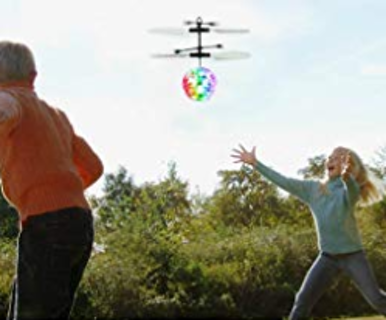 Light Up Ball Drone Helicopter with Remote