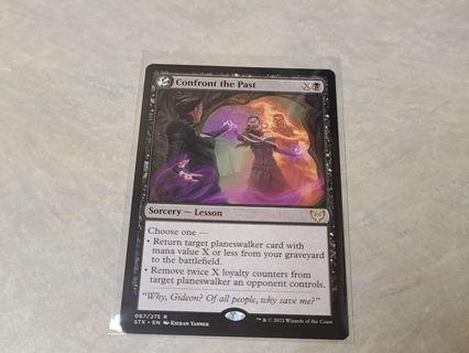 Magic the gathering mtg Confront the Past rare card Strixhaven