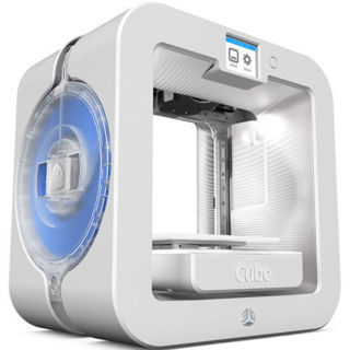 NEW! 3D Systems Cube 3D Wireless Printer, 3rd Generation (White) FREE SHIP!