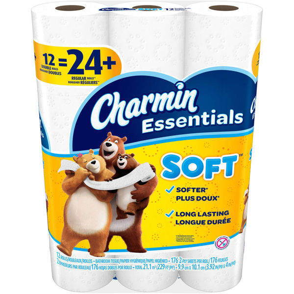 Charmin Toilet Paper Ebay: Free: NEW! Quality Charmin Soft 12 Double Rolls Ultra Soft