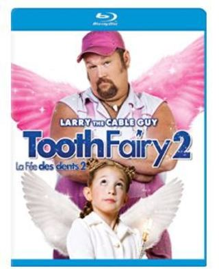 """NEW IN PACKAGE BLUE-RAY DISC """"TOOTH FAIRY 2"""" ~ LARRY THE CABLE GUY"""