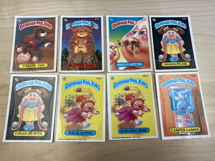 Garbage Pail Kids LOT #AD
