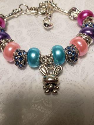 Euro Braclet ♡♡ Bunny Love 2 ♡♡ Braclet &Earrings