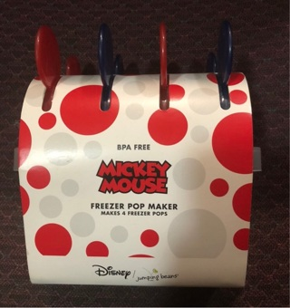 Mickey Mouse Freezer POP Makers, Set of 4