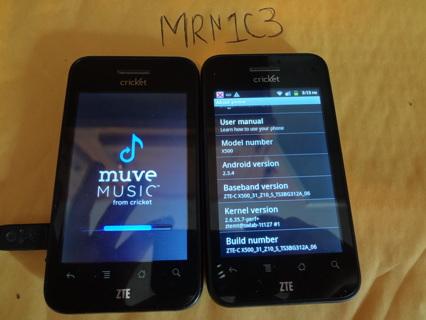 Free: #2 ZTE X500 Score Prepaid Cricket CLEAN IMEI - Phones - Listia