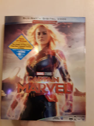 New Marvel Studios CAPTAIN MARVEL Blu-Ray + Digital Code & Movie Guardians of the galaxy Vol 2