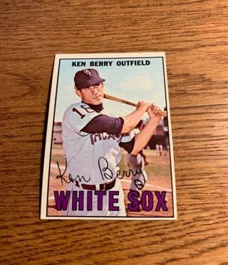1967 Topps Ken Berry