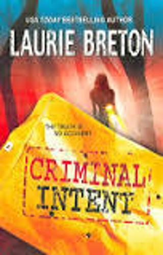 Criminal Intent by Laurie Breton (PB/VGC) #LTD-R7