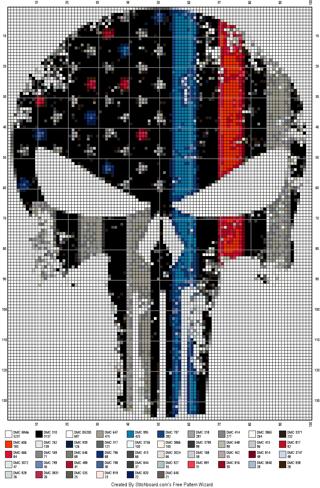 FLAG PATTERN 55