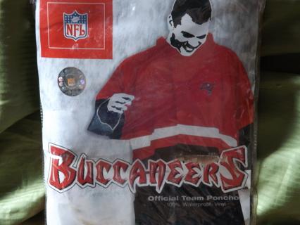Free: Tampa Bay Buccaneers Fans!!! Heavy Duty Rain Poncho