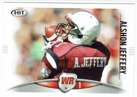 Alshon Jeffery Rookie Chicago Bears 2012 HIT
