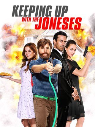 Keeping Up With The Joneses HD VUDU