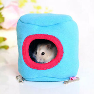 Small Cage Warm Toys Squirrel Mini Cages House Pet Hanging Nest Hamster Cage