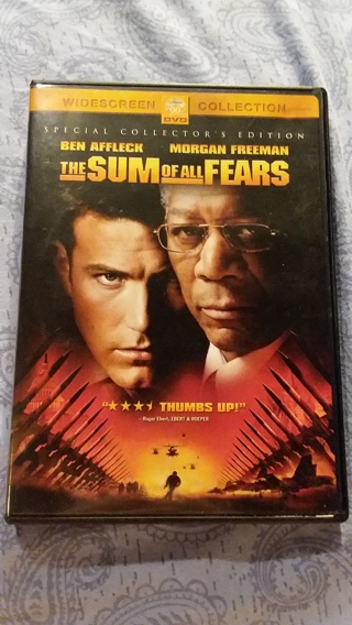 ⭐⭐Sum Of All Fears (2002) (Free Shipping & Tracking) ⭐⭐