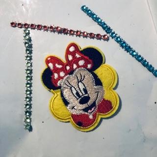 Minnie Mouse Embodied Iron Sew Patch + Bonus