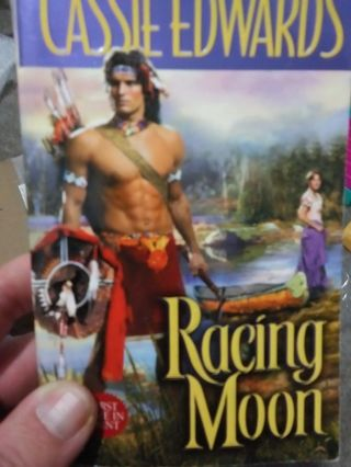 Racing Moon by Cassie Edwards