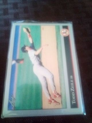 Todd Zeile 4 card lot