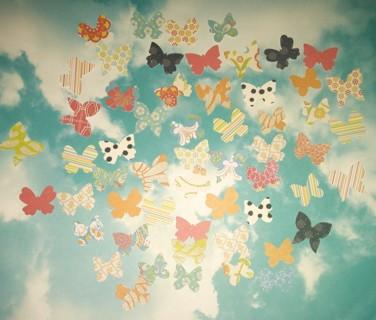 50 Cardstock Butterfly Punches