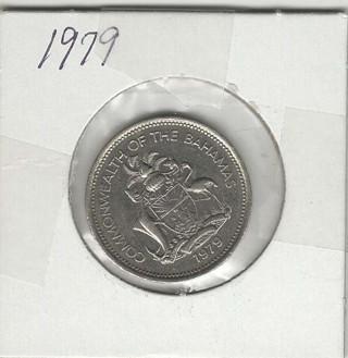 1979 .25c Bahama coin