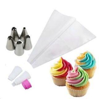 Cake Decorating Icing 1 Set Tools Cream Baking Piping Bag Pastry Nozzles