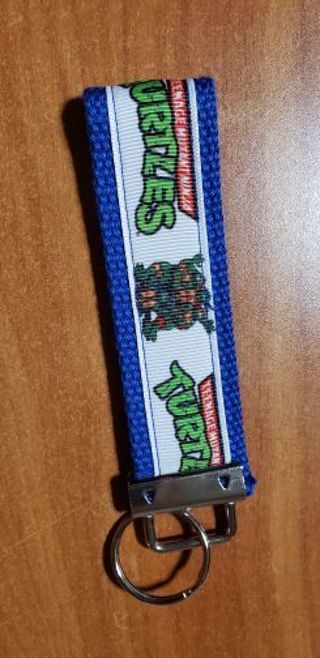 Ninja turtle key chain