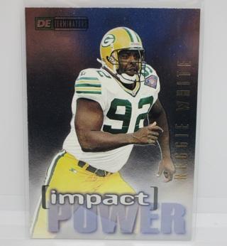 Reggie White, 1995 SkyBox Impact Power Football Card #IP2