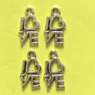 4 'LOVE ' Charms  GIN gets you 6!