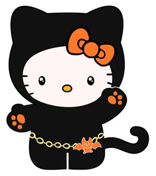 free halloween hello kitty iron on transfer applique