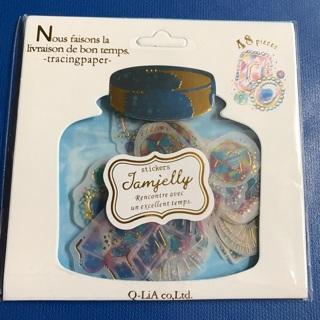ఇ✩ Treasure Jewels Transparent Kawaii Sticker Flakes Sack BRAND NEW ✩ఇ