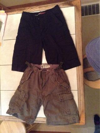 2 pairs of boys size 8 shorts!