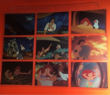 9 Little Mermaid 1991 Cards!